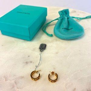 Tiffany and Co. atlas earrings!!!